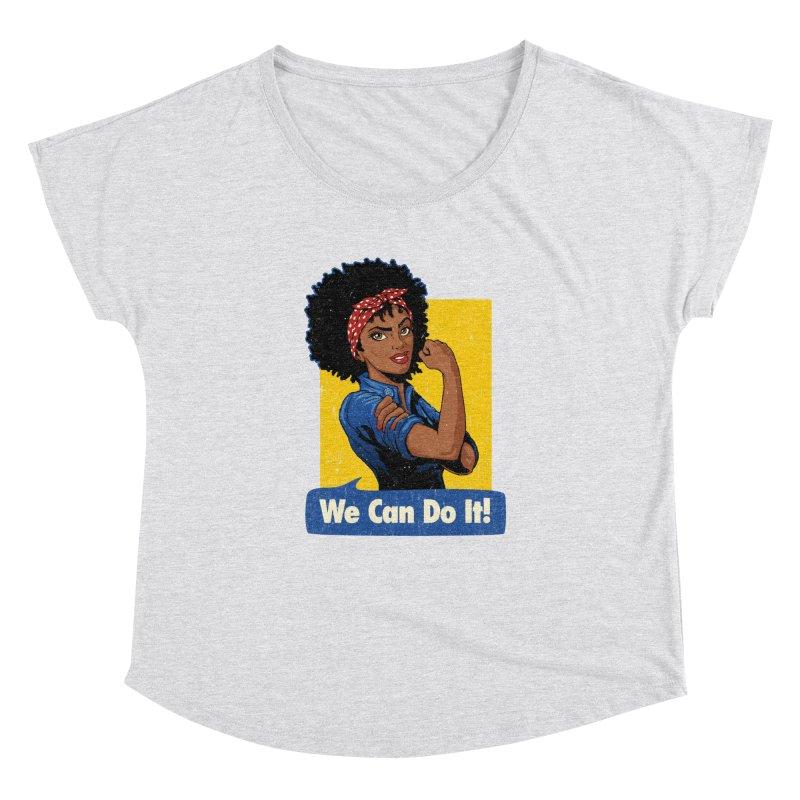 We Can Do It! V2 Women's Dolman by Vó Maria's Artist Shop
