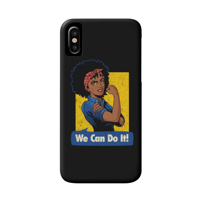 We Can Do It! V2 Accessories Phone Case by Vó Maria's Artist Shop
