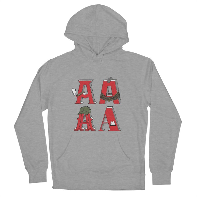 A-Team Women's French Terry Pullover Hoody by vonbrandis's Artist Shop