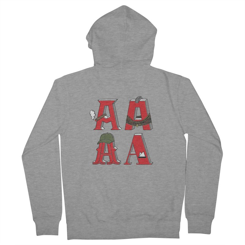 A-Team Women's French Terry Zip-Up Hoody by vonbrandis's Artist Shop