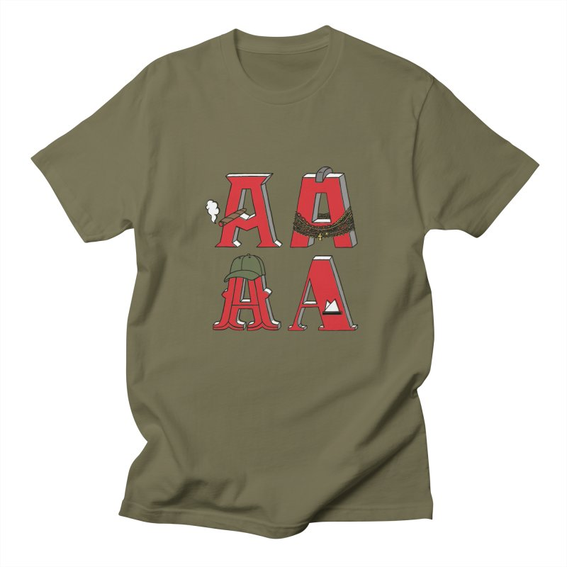 A-Team Men's Regular T-Shirt by vonbrandis's Artist Shop