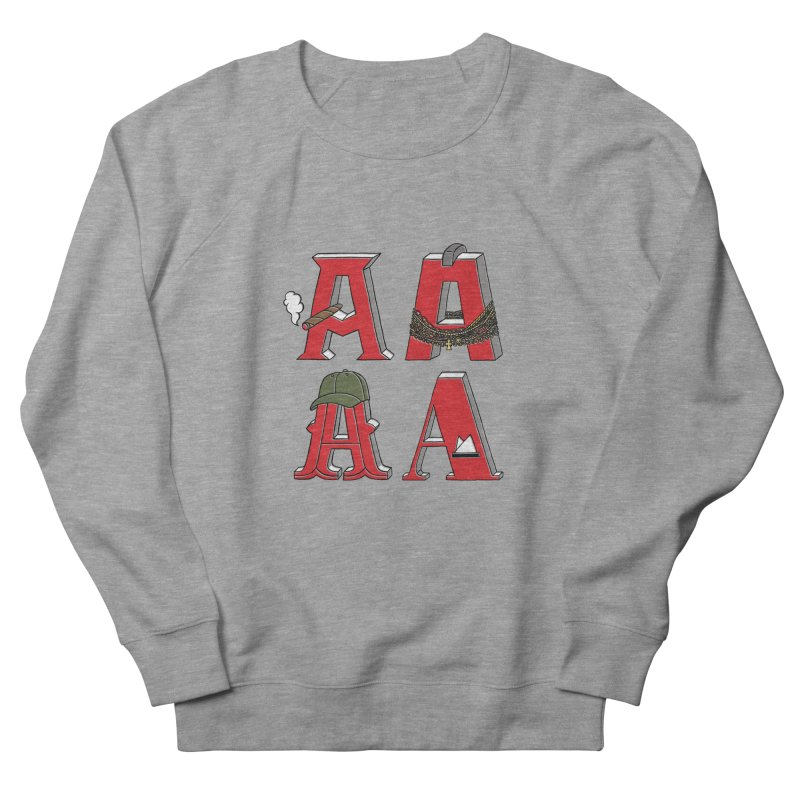 A-Team Women's French Terry Sweatshirt by vonbrandis's Artist Shop