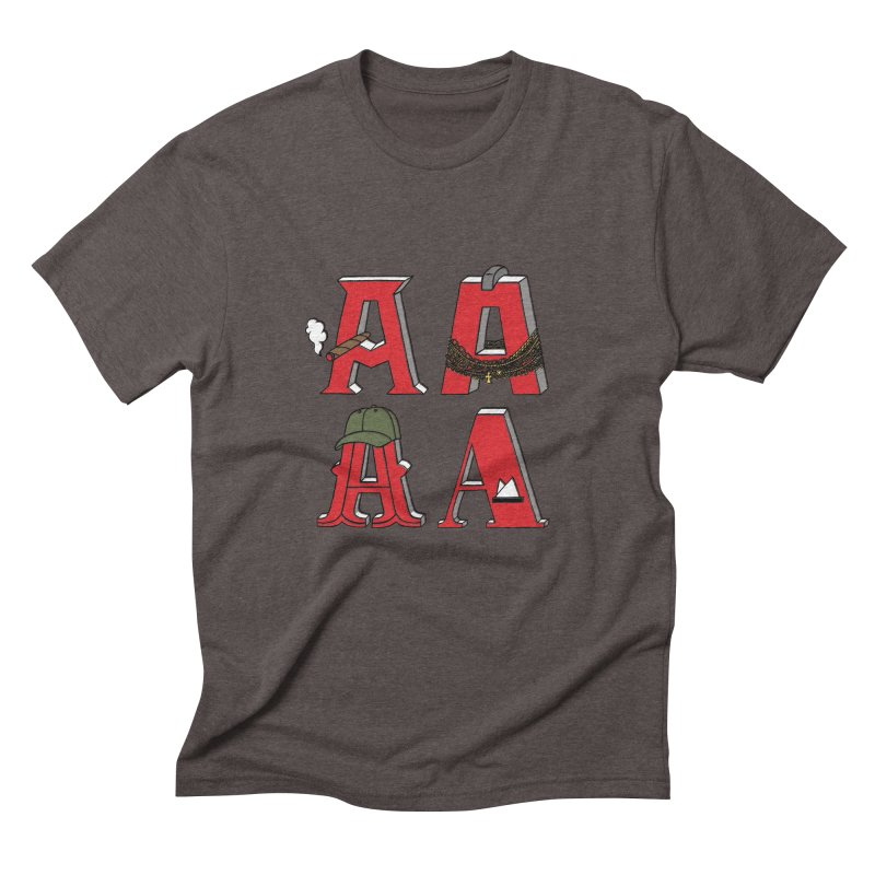 A-Team Men's Triblend T-Shirt by vonbrandis's Artist Shop