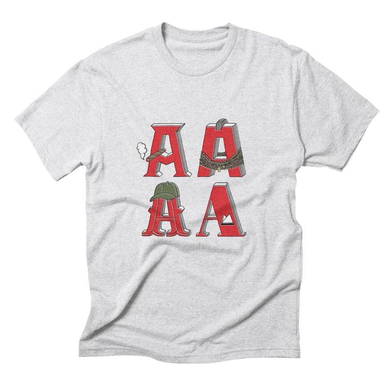 A-Team Men's Triblend T-shirt by vonbrandis's Artist Shop