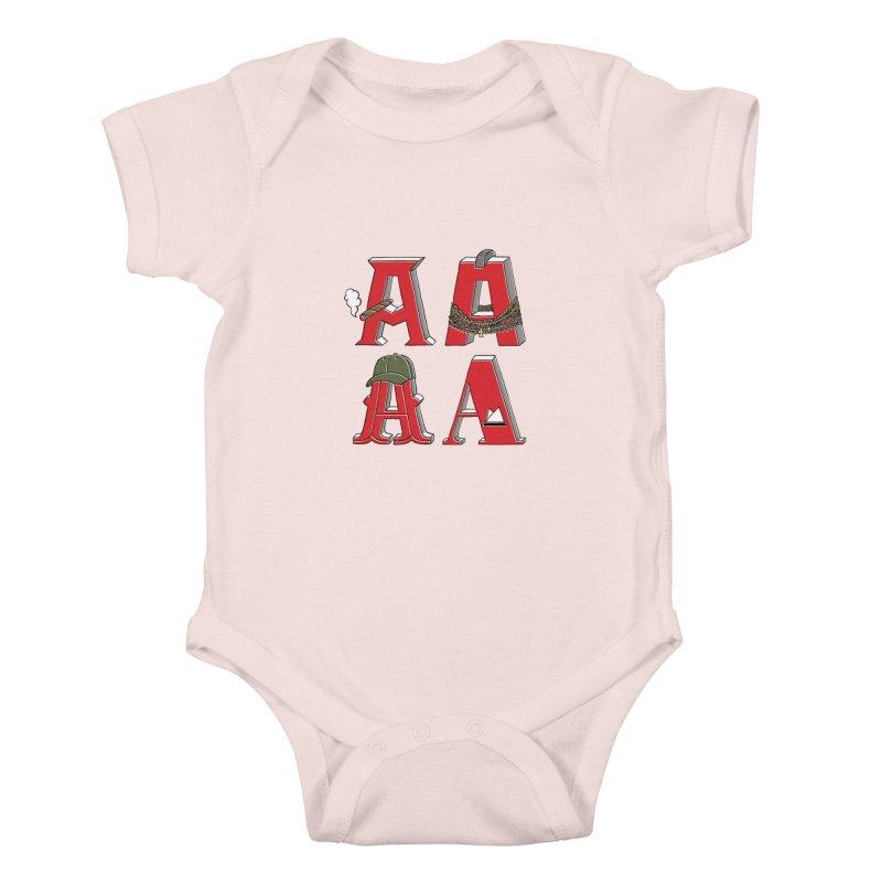 A-Team Kids Baby Bodysuit by vonbrandis's Artist Shop