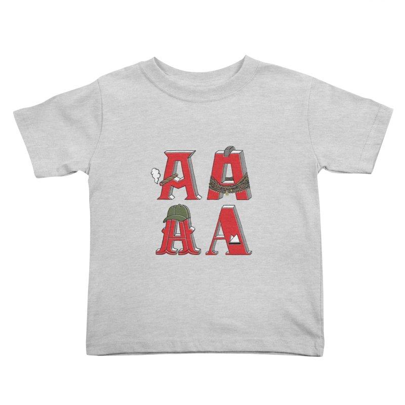 A-Team Kids Toddler T-Shirt by vonbrandis's Artist Shop