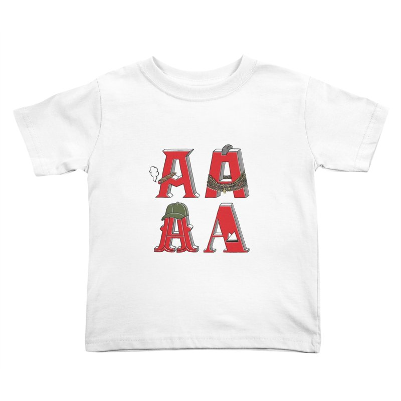 A-Team Kids Toddler T-Shirt by vonbrandis's Artist Shop