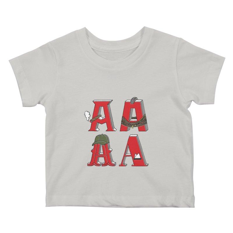 A-Team Kids Baby T-Shirt by vonbrandis's Artist Shop