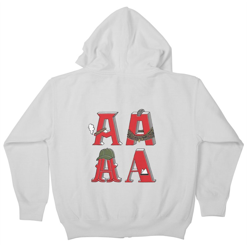 A-Team Kids Zip-Up Hoody by vonbrandis's Artist Shop
