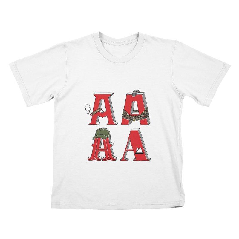A-Team Kids T-Shirt by vonbrandis's Artist Shop