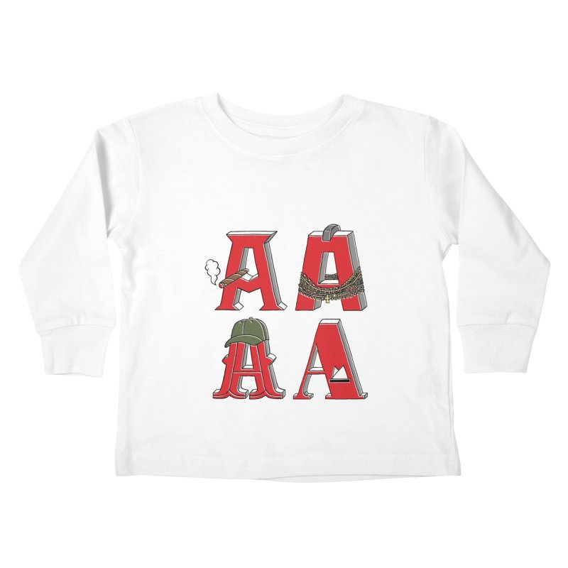 A-Team Kids Toddler Longsleeve T-Shirt by vonbrandis's Artist Shop
