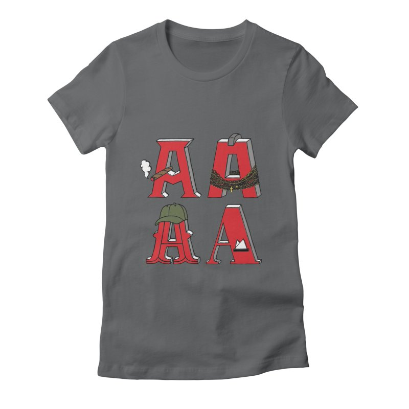 A-Team Women's Fitted T-Shirt by vonbrandis's Artist Shop