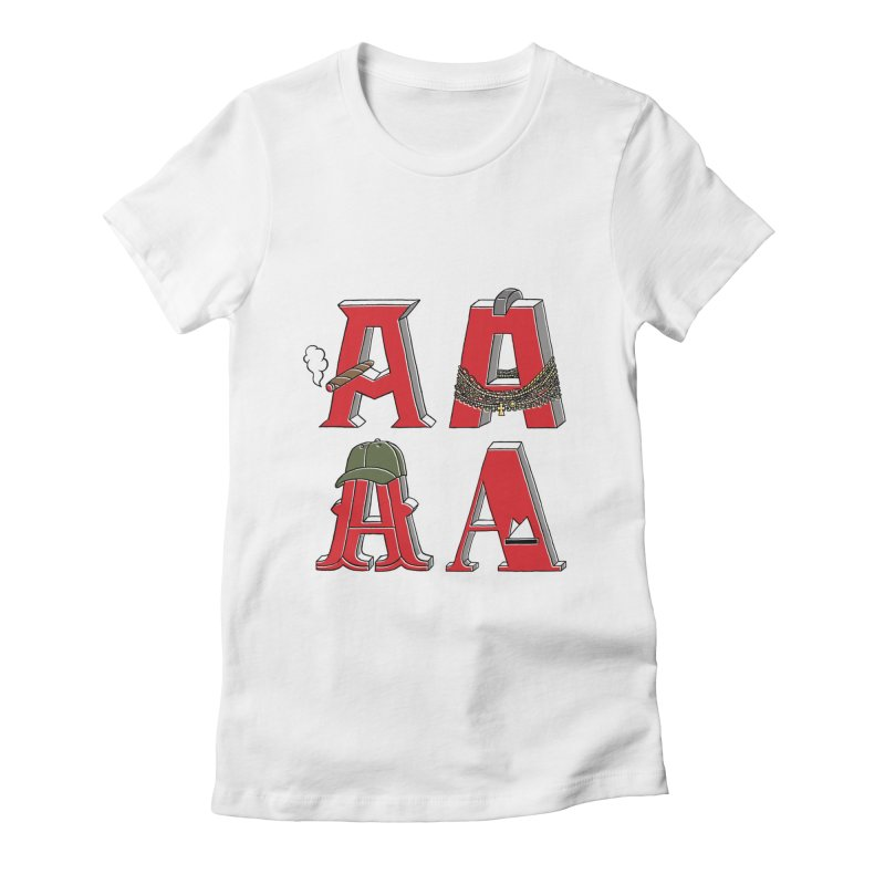A-Team Women's Fitted T-Shirt by vonbrandis's Artist Shop