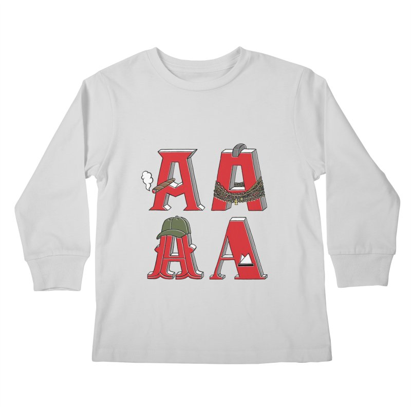 A-Team Kids Longsleeve T-Shirt by vonbrandis's Artist Shop