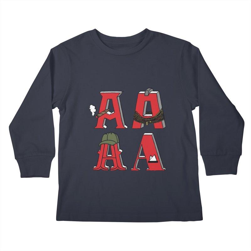 A-Team Kids Longsleeve T-Shirt by vonbrandis's Artist Shop