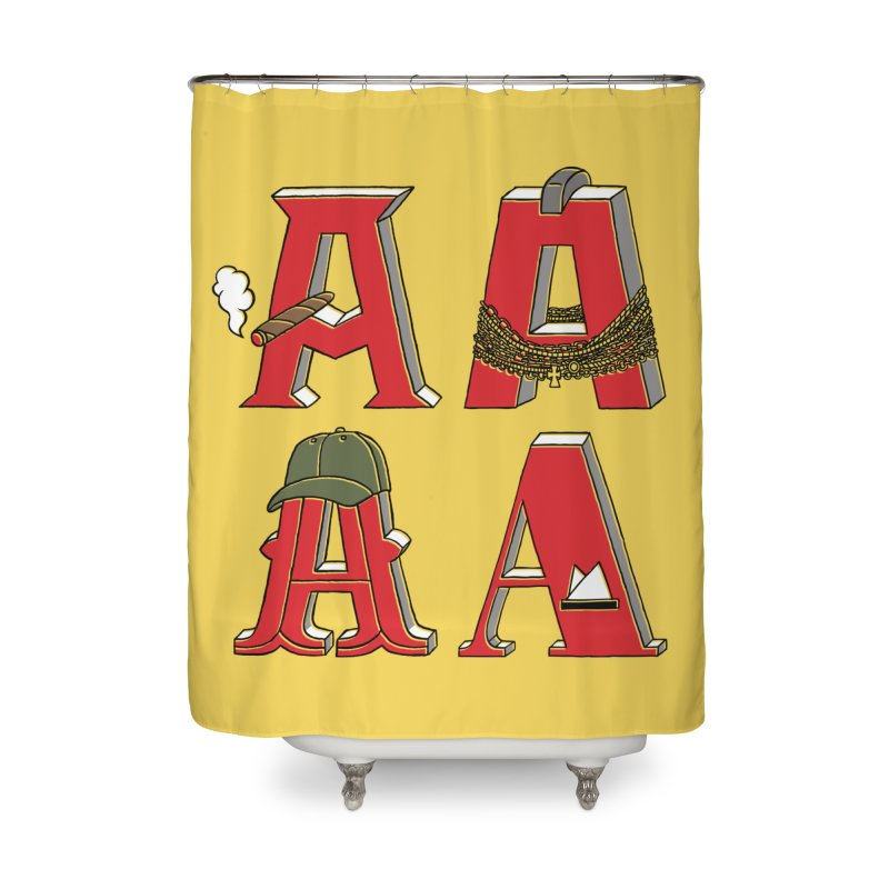 A-Team Home Shower Curtain by vonbrandis's Artist Shop