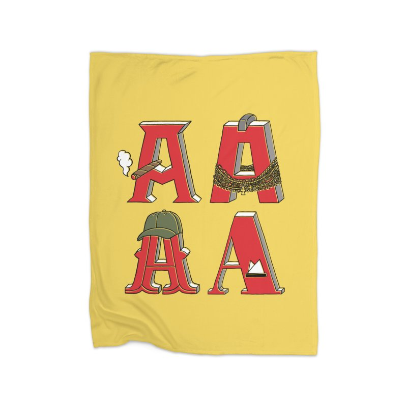 A-Team Home Fleece Blanket Blanket by vonbrandis's Artist Shop