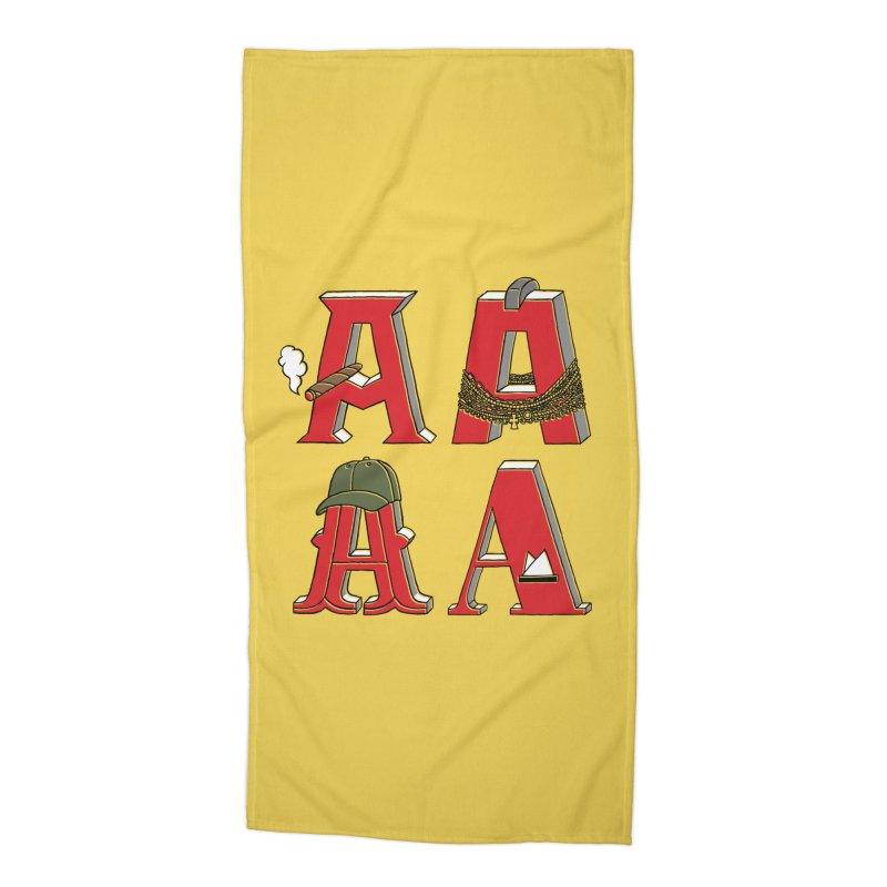 A-Team Accessories Beach Towel by vonbrandis's Artist Shop