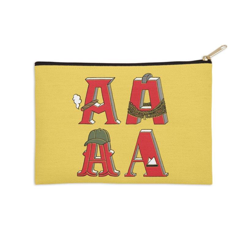 A-Team Accessories Zip Pouch by vonbrandis's Artist Shop