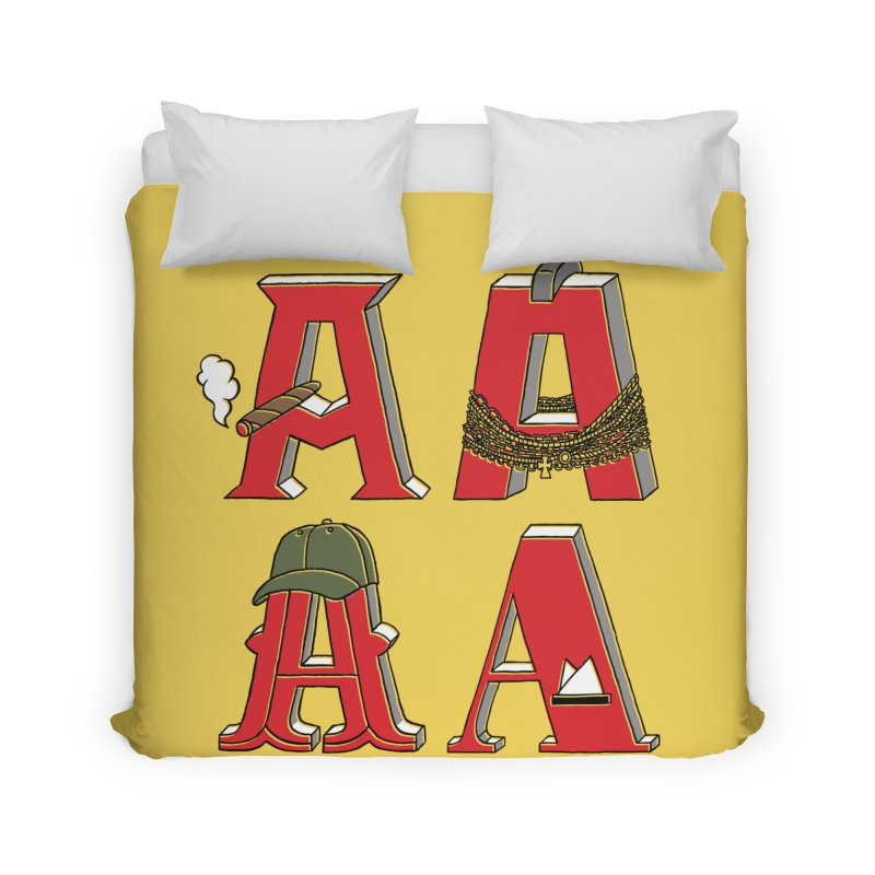 A-Team Home Duvet by vonbrandis's Artist Shop