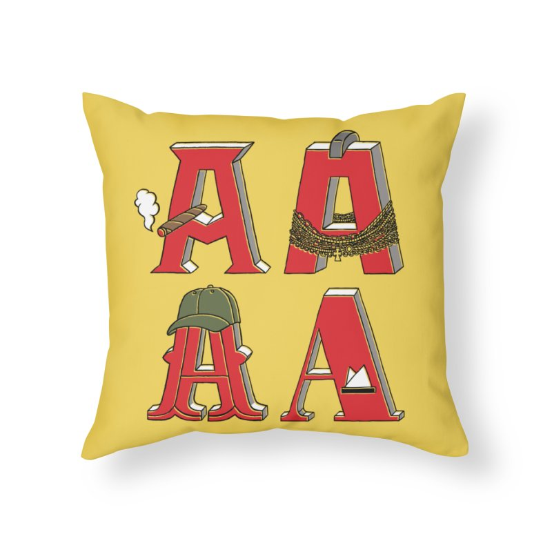 A-Team Home Throw Pillow by vonbrandis's Artist Shop
