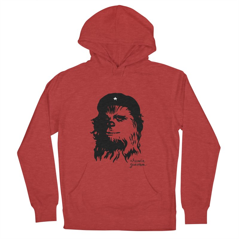 Chewie Guevara Men's French Terry Pullover Hoody by vonbrandis's Artist Shop