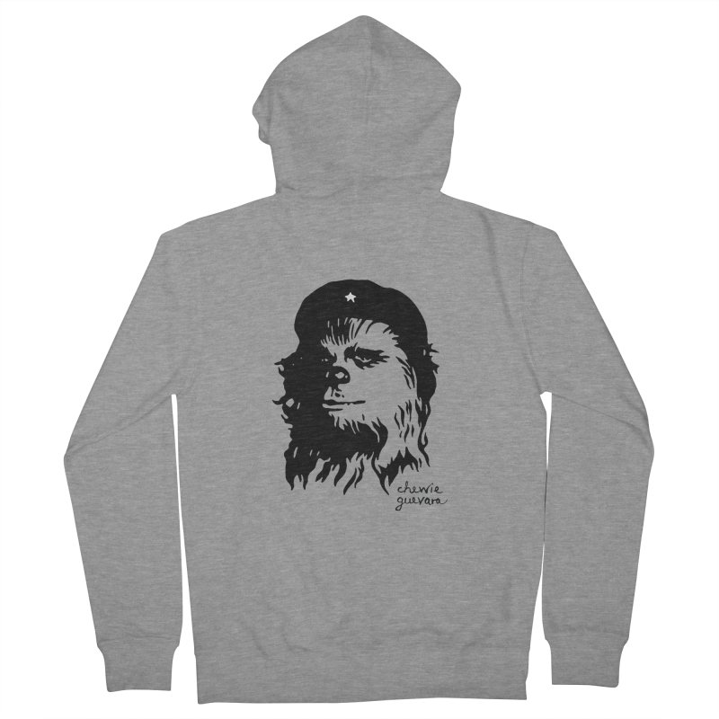 Chewie Guevara Men's French Terry Zip-Up Hoody by vonbrandis's Artist Shop