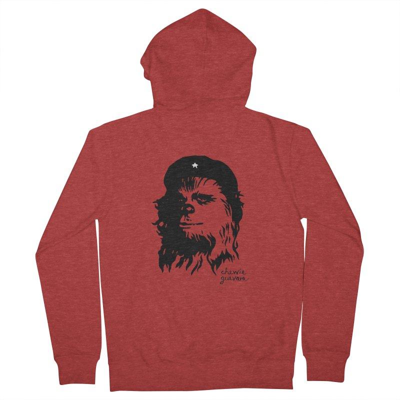 Chewie Guevara Men's French Terry Zip-Up Hoody by vonbrandis's Artist Shop