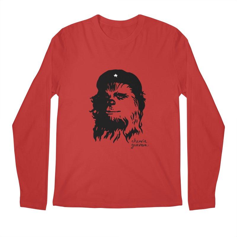 Chewie Guevara Men's Longsleeve T-Shirt by vonbrandis's Artist Shop
