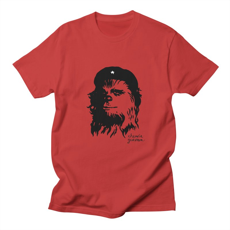 Chewie Guevara Men's Regular T-Shirt by vonbrandis's Artist Shop