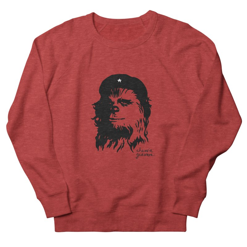 Chewie Guevara Women's French Terry Sweatshirt by vonbrandis's Artist Shop