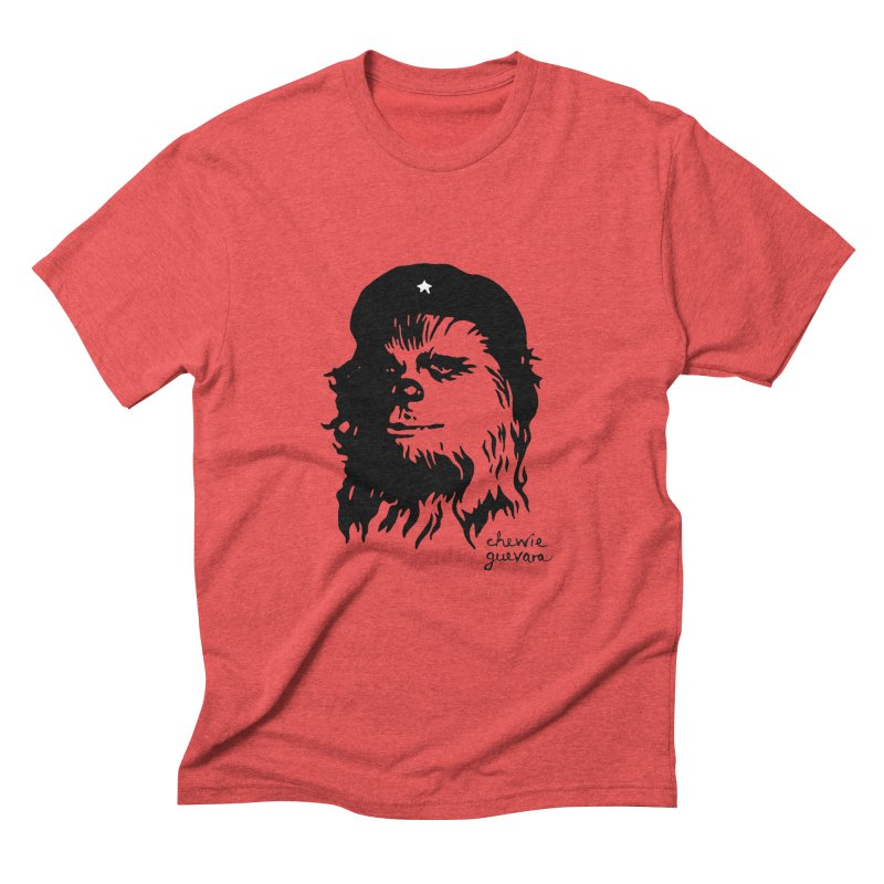 Chewie Guevara Men's Triblend T-Shirt by vonbrandis's Artist Shop
