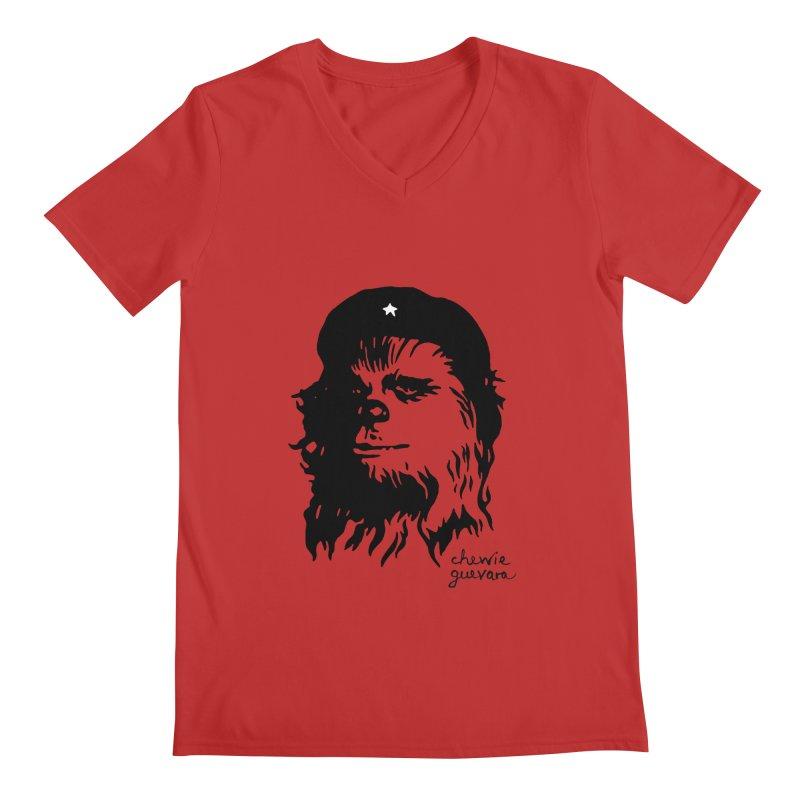 Chewie Guevara Men's V-Neck by vonbrandis's Artist Shop