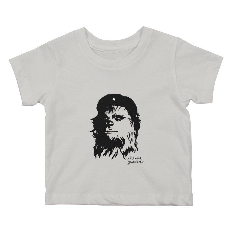 Chewie Guevara Kids Baby T-Shirt by vonbrandis's Artist Shop