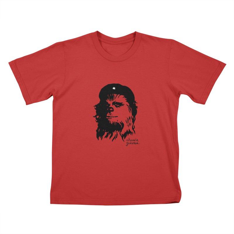 Chewie Guevara Kids T-Shirt by vonbrandis's Artist Shop