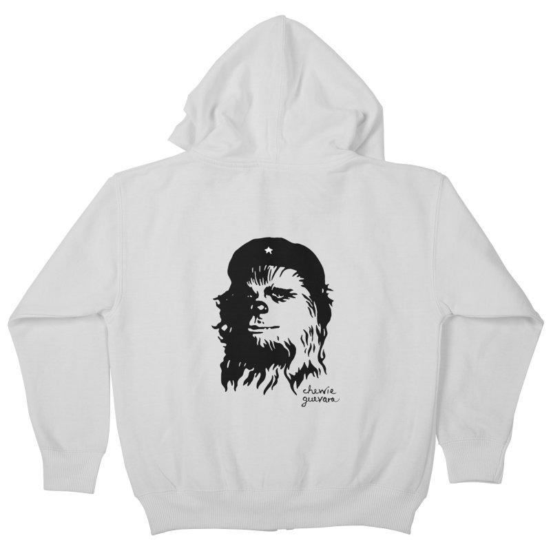 Chewie Guevara Kids Zip-Up Hoody by vonbrandis's Artist Shop