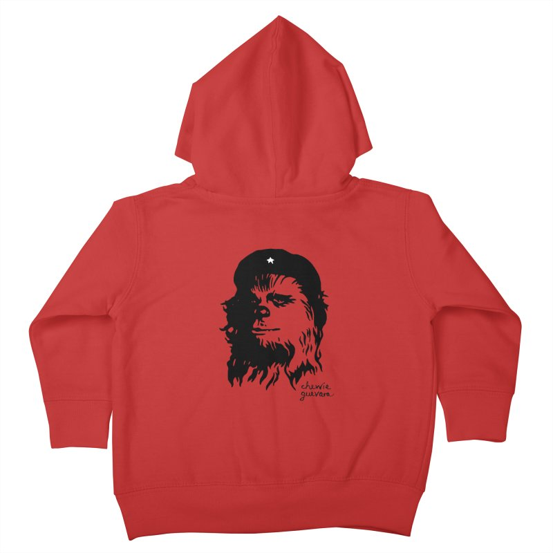 Chewie Guevara Kids Toddler Zip-Up Hoody by vonbrandis's Artist Shop