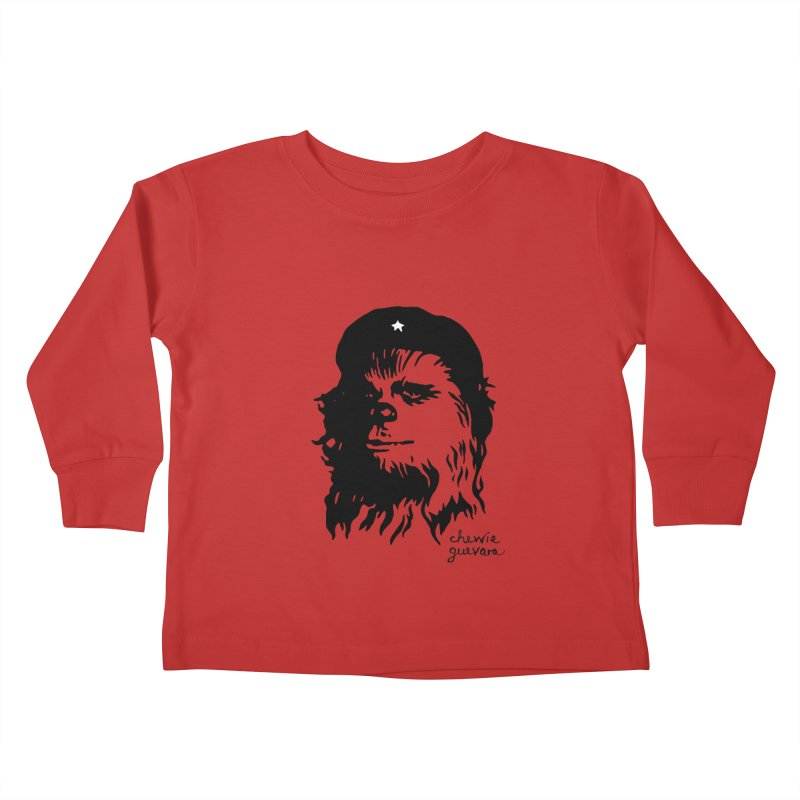 Chewie Guevara Kids Toddler Longsleeve T-Shirt by vonbrandis's Artist Shop