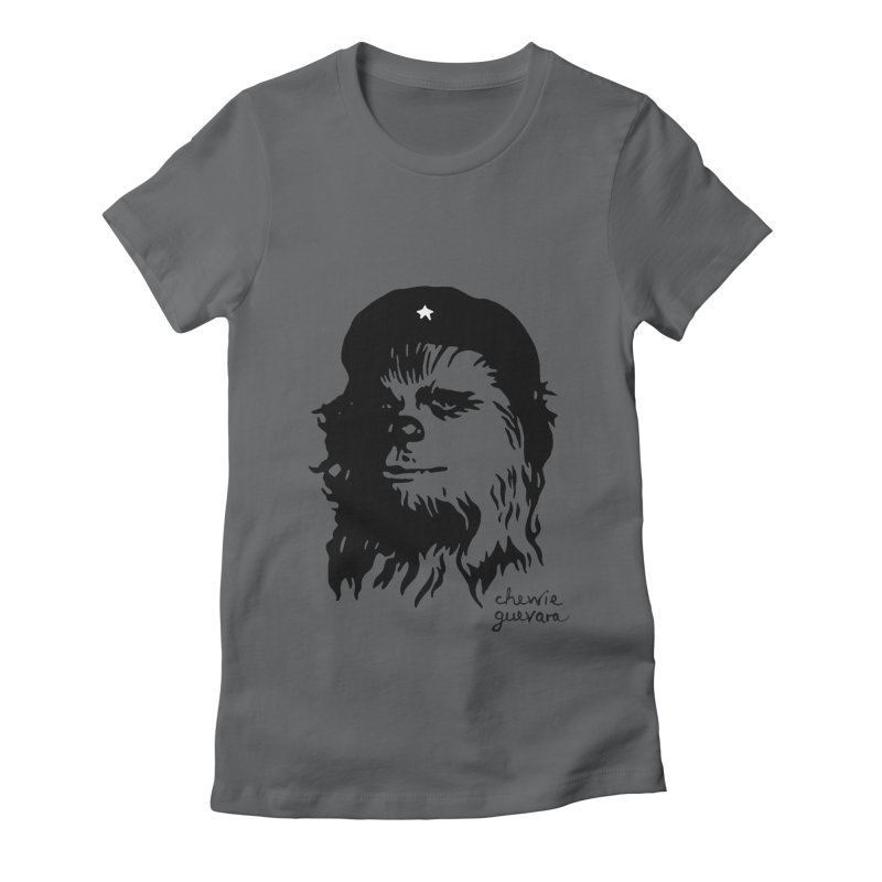 Chewie Guevara Women's Fitted T-Shirt by vonbrandis's Artist Shop