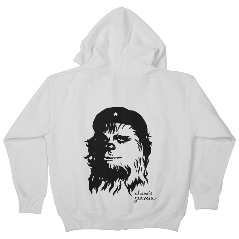 Chewie Guevara Kids Zip-Up Hoody by vonbrandis's Artist Shop