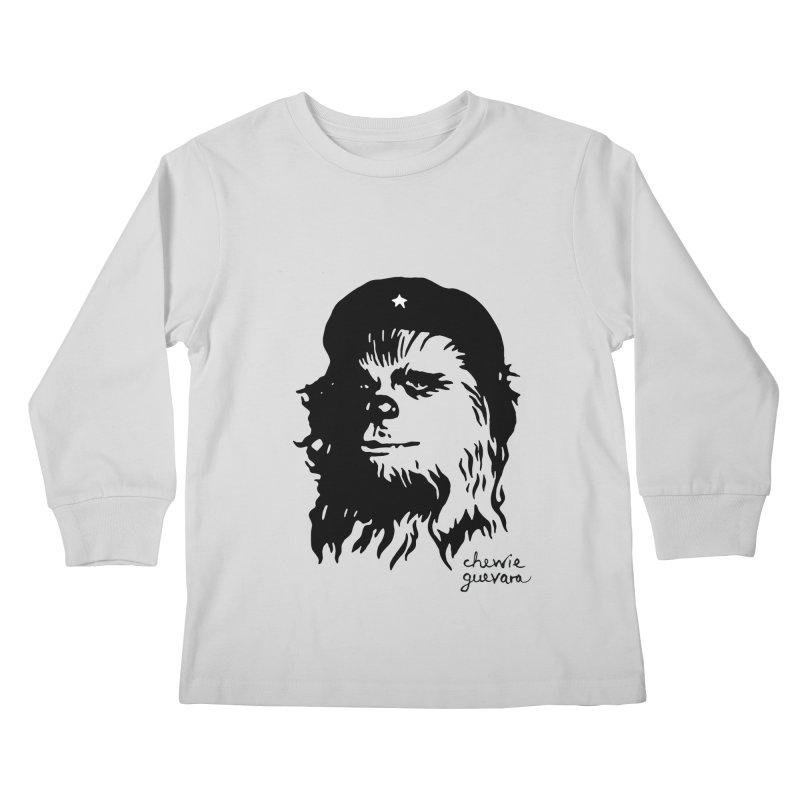 Chewie Guevara Kids Longsleeve T-Shirt by vonbrandis's Artist Shop