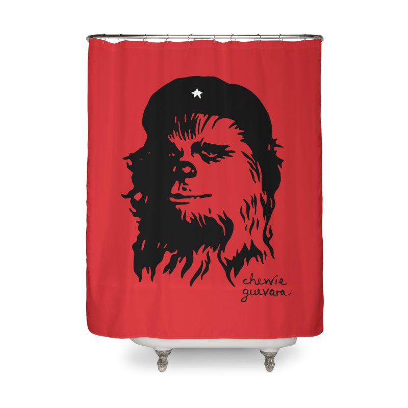 Chewie Guevara Home Shower Curtain by vonbrandis's Artist Shop