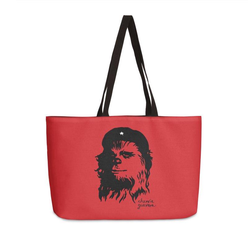 Chewie Guevara Accessories Weekender Bag Bag by vonbrandis's Artist Shop
