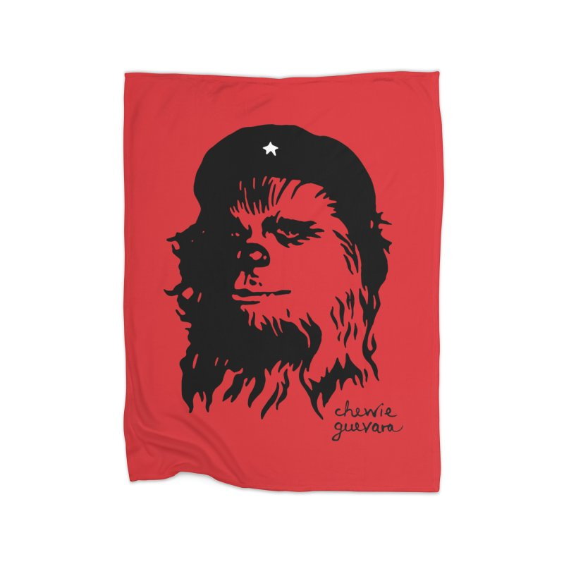 Chewie Guevara Home Fleece Blanket Blanket by vonbrandis's Artist Shop