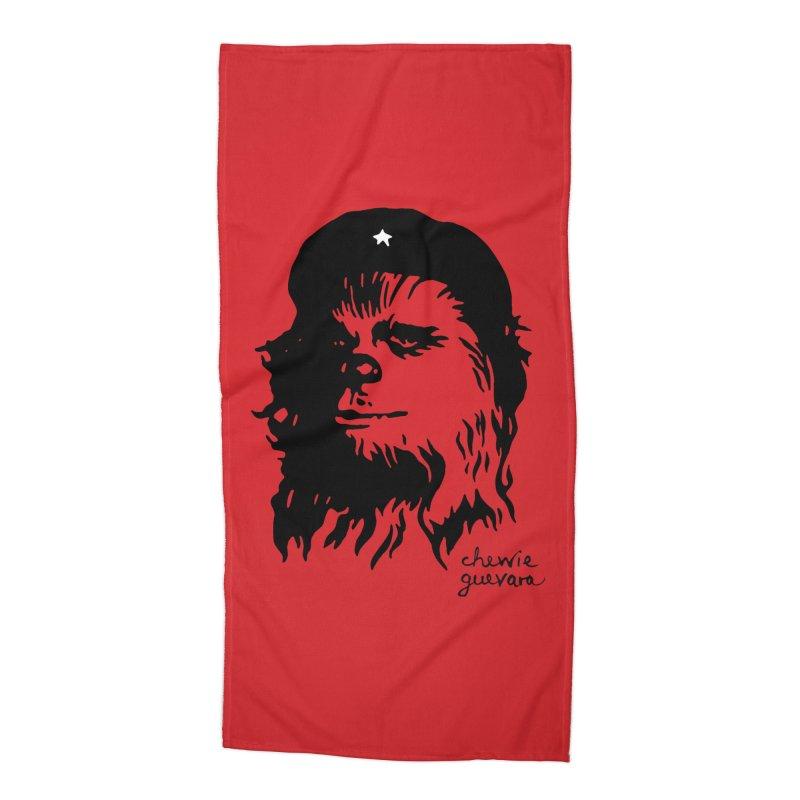 Chewie Guevara Accessories Beach Towel by vonbrandis's Artist Shop