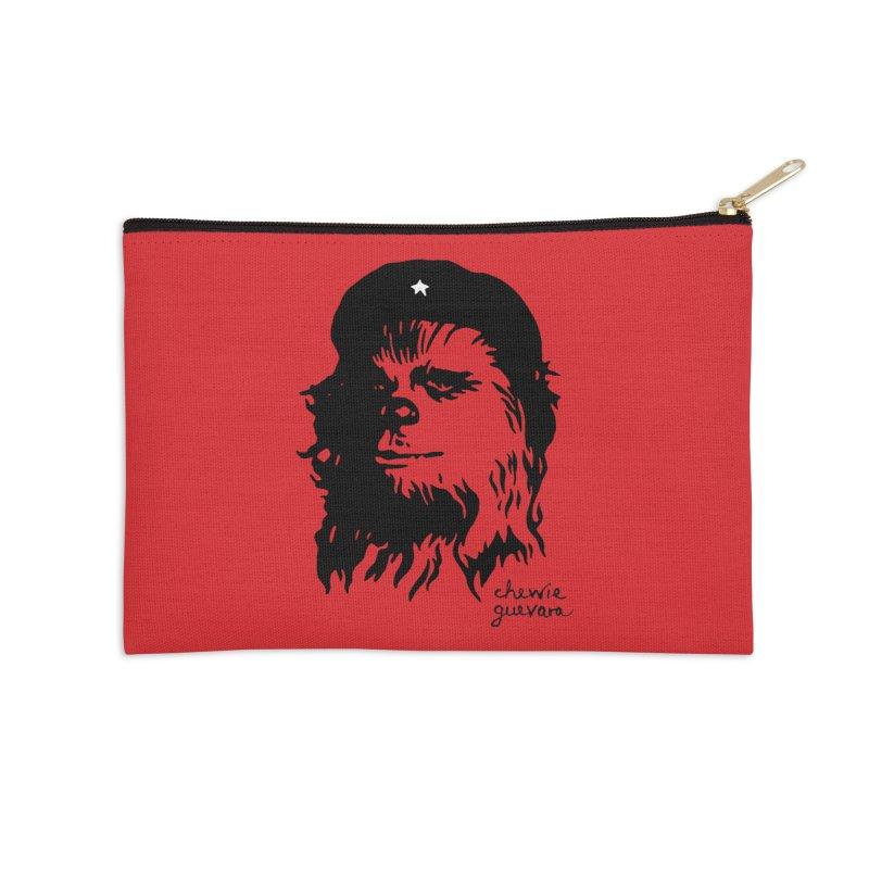 Chewie Guevara Accessories Zip Pouch by vonbrandis's Artist Shop