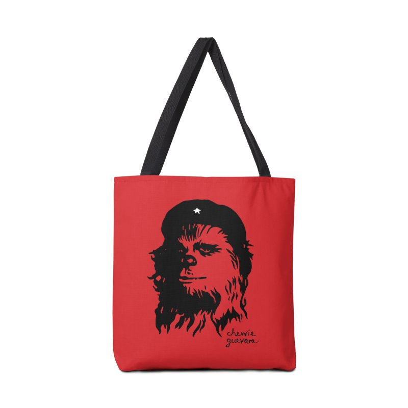 Chewie Guevara Accessories Bag by vonbrandis's Artist Shop