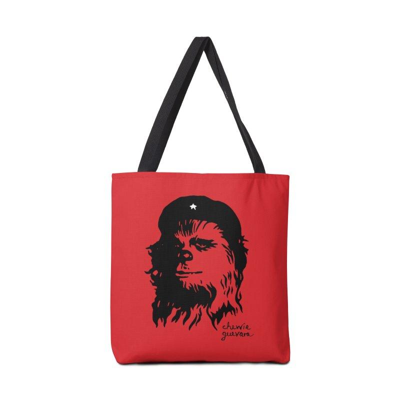 Chewie Guevara Accessories Tote Bag Bag by vonbrandis's Artist Shop