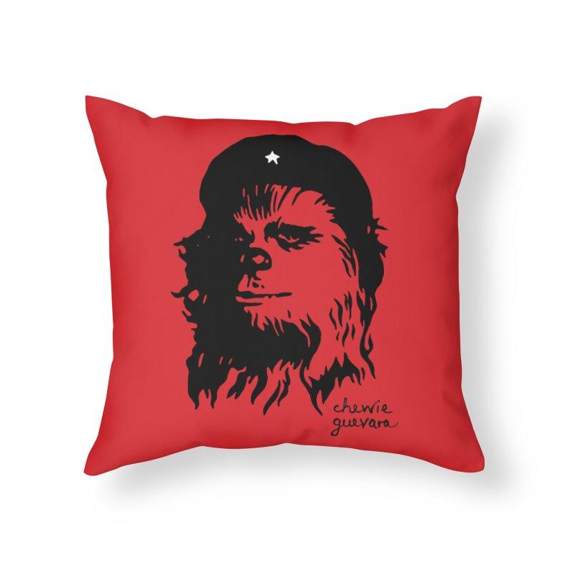 Chewie Guevara Home Throw Pillow by vonbrandis's Artist Shop