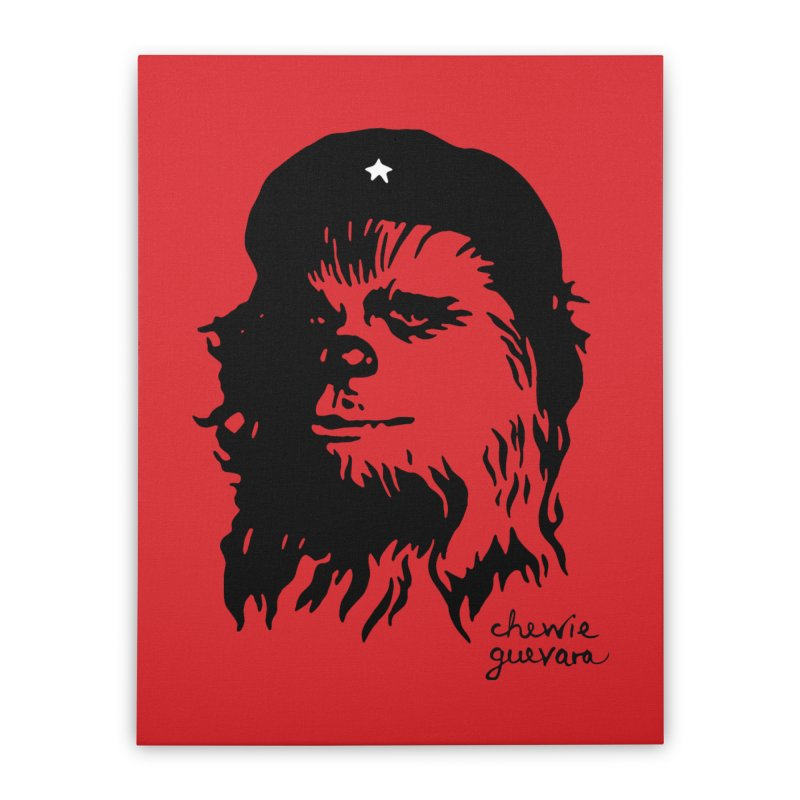 Chewie Guevara Home Stretched Canvas by vonbrandis's Artist Shop